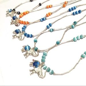 Jewelry - Elephant and Pig Necklaces